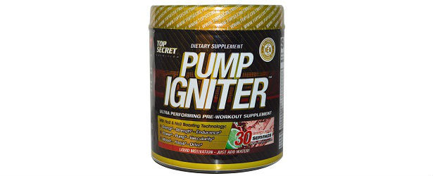 Top Secret Nutrition Pump Igniter Review 615